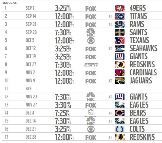 Nfl regular season the boys are back - Steelers schedule 2014 printable ...