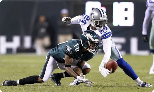 AROUND THE NFC EAST - Former Eagle DeSean Jackson headed to rival Redskins - Dallas Cowboys cornerback Morris Claiborne