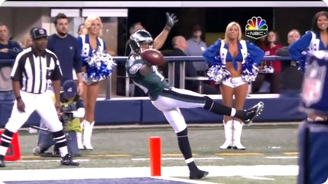 AROUND THE NFC EAST - Former Eagle DeSean Jackson headed to rival Redskins  -TD against Dallas Cowboys - Redskins Cowboys rivalry