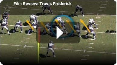 Dallas Cowboy center Travis Frederick film review - The Boys Are Back 2013 2014
