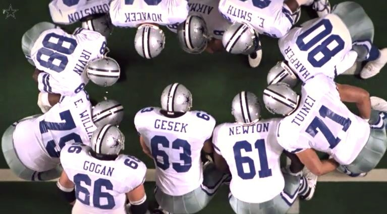 Dallas cowboys history the great wall of dallas cowboys trenches