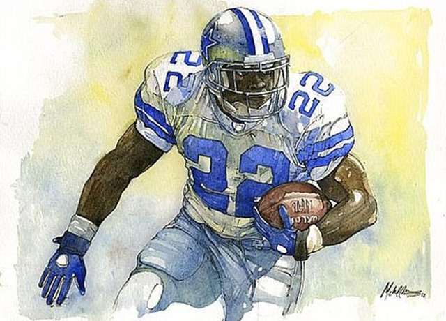 emmitt-smith by michael-pattison 2 - The Boys Are Back website