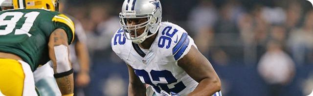 HAPPY TRAILS TO FORMER COWBOY - Dallas DL Jarius Wynn signs with Buffalo Bills - NFL Free Agency 2014