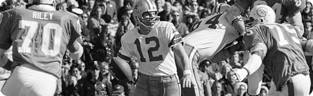 LIGHTS, CAMERA, ACTION - Dallas Cowboys featured on NFL Network's Dynasty Week - Roger Staubach