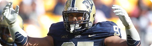SITTIN' AT SWEET SIXTEEN - Dallas Cowboys first-round NFL Draft Prospect Aaron Donald - NFL Draft 2014