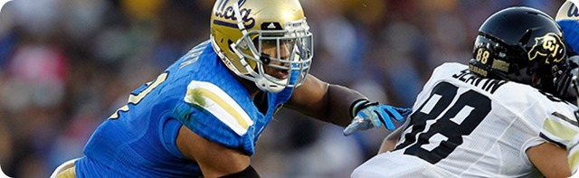 SITTIN' AT SWEET SIXTEEN - Dallas Cowboys first-round NFL Draft Prospect Anthony Barr - NFL Draft 2014