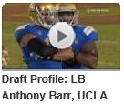 SITTIN' AT SWEET SIXTEEN - Dallas Cowboys first-round NFL Draft Prospect Anthony Barr - NFL Draft 2014 - Video