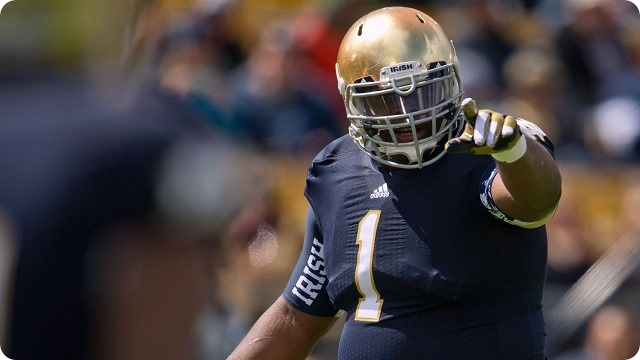SITTIN' AT SWEET SIXTEEN - Dallas Cowboys first-round NFL Draft Prospect Louis Nix III - NFL Draft 2014