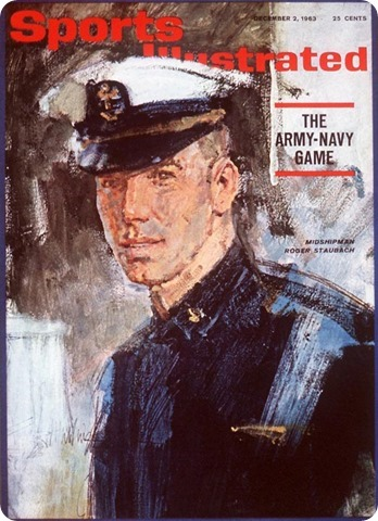 sports illustrated - december 2 1963 - roger staubach - army-navy game - dallas cowboys qb - nfl quaerterback - the boys are back blog