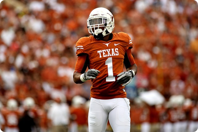 Texas wide receiver Mike Davis