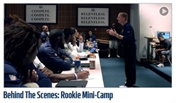 Behind The Scenes - Rookie Mini-Camp