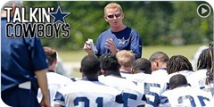 Button - Talkin' Cowboys with Mickey Spagnola, Brian Broaddus, Rowan Kavner, and Sydney - Dallas Cowboys video audio show - The Boys Are Back 2014