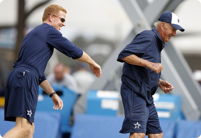 CHANGING OF THE GUARD - Monte Kiffin's role has changed, but the Dallas Cowboys defense is in good hands - 2014 Dallas Cowboys coaching staff c