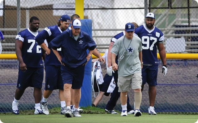 CHANGING OF THE GUARD - Monte Kiffin's role has changed, but the Dallas Cowboys defense is in good hands with Rod Marinelli - 2014 Dallas Cowboys coaching staff