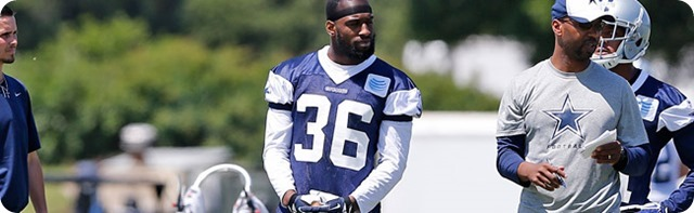 Dallas Cowboys safety Ahmad Dixon signs contract - misses minicamp practice with hip issue - The Boys Are Back website 2014