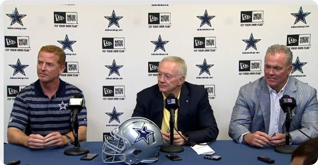 KEEPIN UP WITH THE JONES - Dallas Cowboys pre-draft press conference with Jason Garrett - NFL Draft 2014