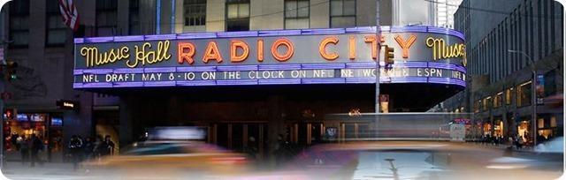 nfl draft 2014 - radio city music hall - the boys are back blog