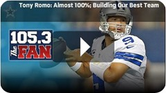 QUARTERBACK BACK ON TRACK - Tony Romo feels like he'll make it through another five years - Dallas Cowboys Injury Update 2014