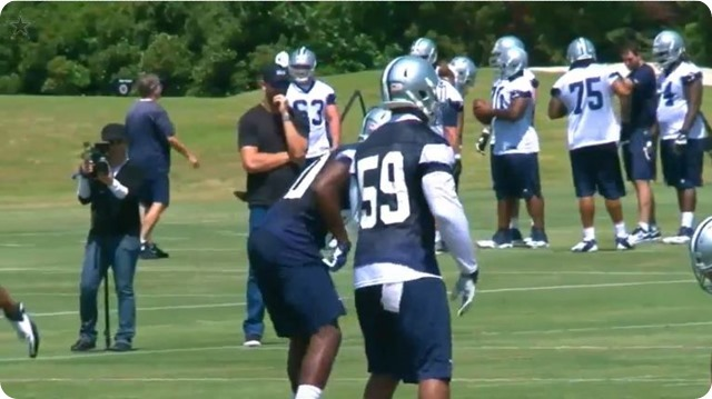 THE BOYS ARE BACK - Dallas Cowboys 2014 rookie minicamp kicks off at Valley Ranch - First look at your new players - Watch Dallas Cowboys video team drills and practice