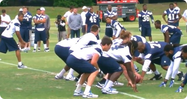 THE BOYS ARE BACK-DAY 2 - Dallas Cowboys 2014 rookie minicamp underway at Valley Ranch - Second look at your new players - Watch team drills and practice video