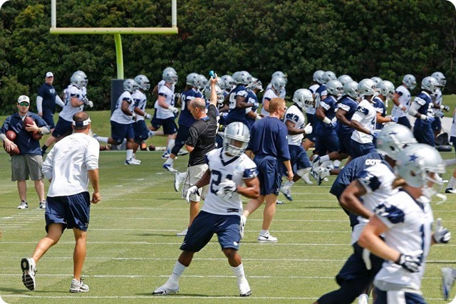 THE BOYS ARE BACK TO WORK - Scouting report on America's Team - 2014 Dallas Cowboys OTA's Day 2 Recap - a