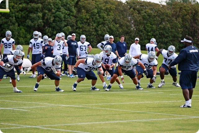 THE BOYS ARE BACK TO WORK - Your pro scouting report on America's Team - 2014 Dallas Cowboys OTA's 05-28 Recap