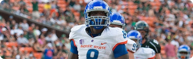 THE COW-BOISE ARE BACK - Dallas Cowboys trade up and rope sack-artist DE DeMarcus Lawrence - NFL Draft 2014 - 2nd Round