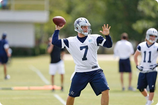 THE QUARTERBACKUP SAGA - Dallas QB Kyle Orton's absence is providing opportunities for the Cowboys other guns - Dallas Cowboys 2014 OTA's Report