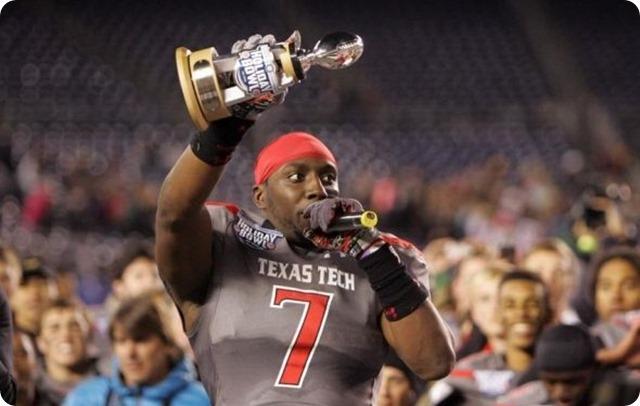 Will Smith - Texas Tech - OLB - Dallas Cowboys Draft 2014 - 7th round NFL Draft 2014