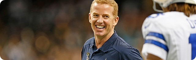 BEHIND THE SCENE - GOING DEEP - Dallas Cowboys coach Jason Garrett and his father have a special bond - Special Feature