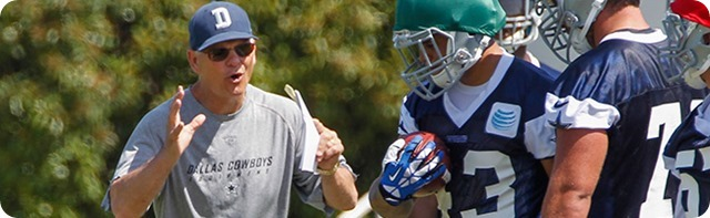 MASTERMINDING A MARINELLI MIRACLE - Anticipating the Dallas Cowboys 55th NFL Training Camp - Overcoming historic 2013 defensive struggles - Defensive coordinator faced restoring faith in America's Team