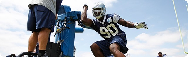 MEET MARINELLI'S MAULERS - Loss of DeMarcus Ware means relentless waves of Dallas Cowboys rushmen - DeMarcus Lawrence - The Boys Are Back 2014