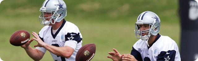 QUARTERBACKUP SAGA ENDS - Kyle Orton released by the Dallas Cowboys - 2014-2015 quarterback position outlook - Four QBs Remaining - The Boys Are Back