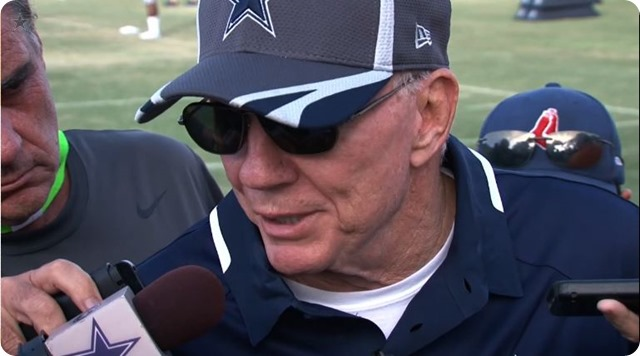 Dallas Cowboys owner Jerry Jones discusses recent off the field issues as well as the play of the defense and Tony Romo - The Boys Are Back website 2014