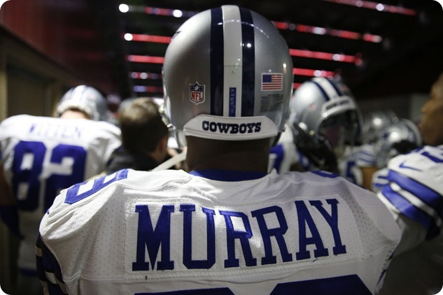 The Shoulders of DeMarco Murray