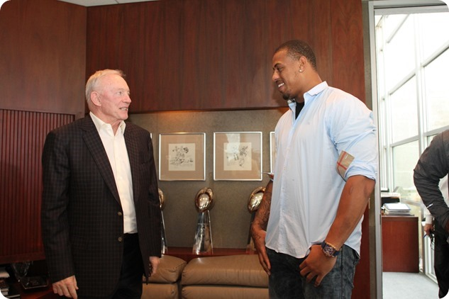 HARDY HANGOVER HANSEN HEAT - Dallas sports broadcaster Dale Hansen rips the Dallas Cowboys for signing Greg Hardy