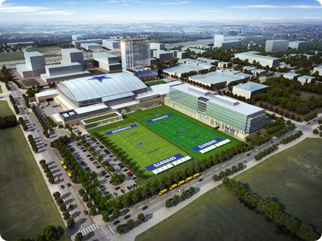 THE FUTURE OF THE STAR: The Dallas Cowboys world headquarters set to open in the summer of 2016 | The state-of-the-art training facility located in Frisco, Texas | The Omni Hotel anchors major retail and restaurant development plan