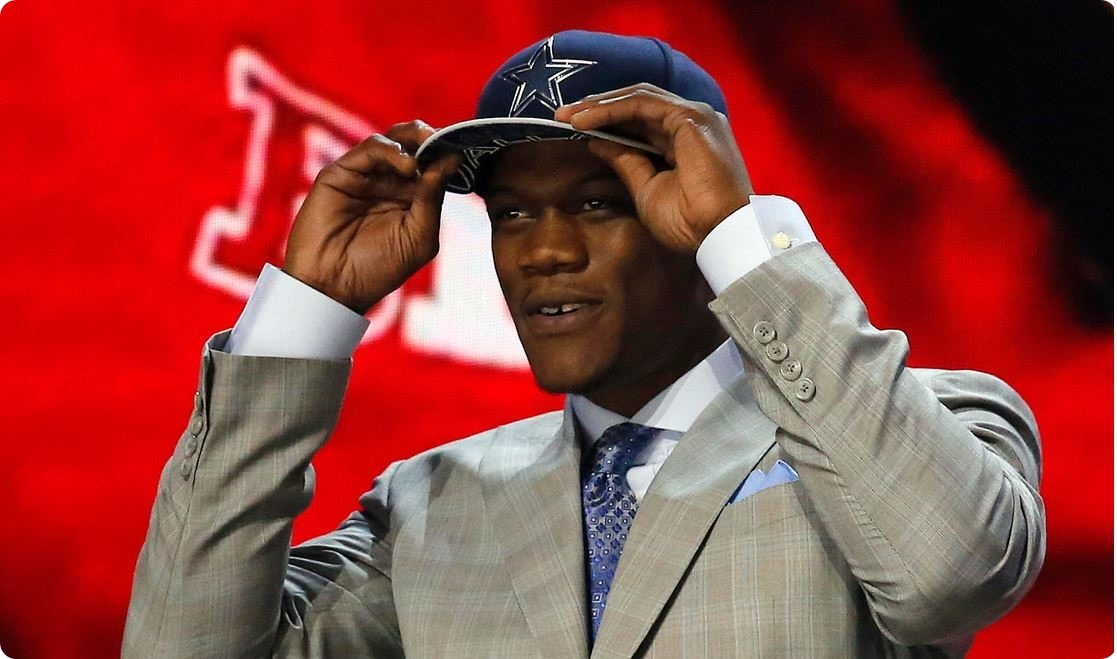 MEET YOUR NEW DALLAS COWBOY - Sacker Secured–DE Randy Gregory slips to sixty - Too good to pass on the pass rusher - Pro Scouting Report - Bonus Audio–Secret Call and more - NFL Draft 2015