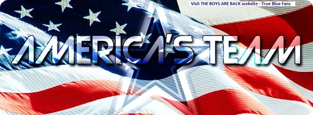 America's Team - The Boys Are Back website 2012